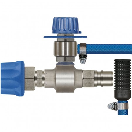 ST160 with metering valve & Stainless Steel plug & Coupling