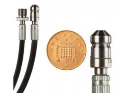 """1\8"""" Male to 9mm Mini Nozzle"""
