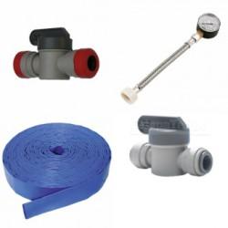 Clamps, Connectors, & Plumbing