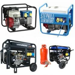 Diesel / Petrol / LPG & Dual-Fuel Generators