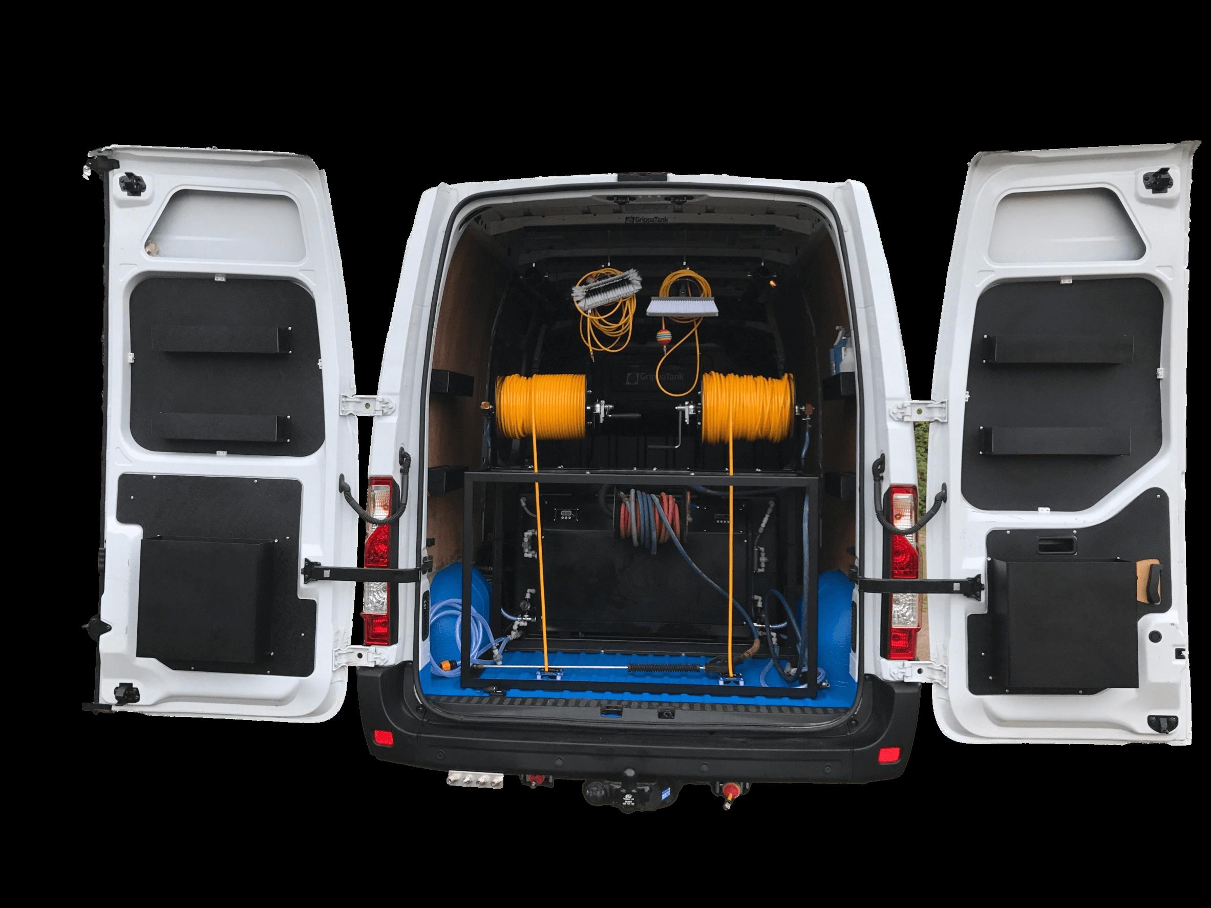GrippaJET Vehicle Mount Pressure Washer Systems