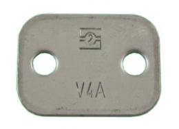 Zinc Plated Top Plate