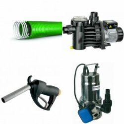 Transfer Pumps, Hose, & Totalizer Systems