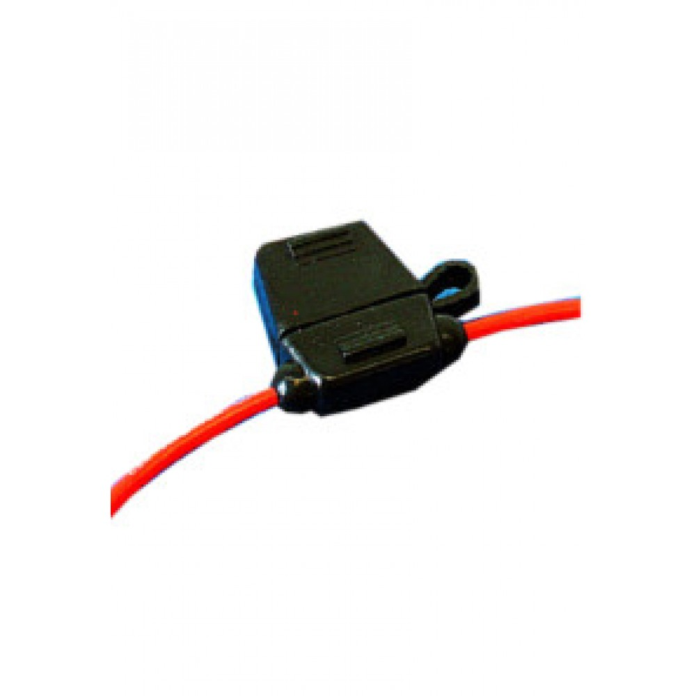 1 - 2mm Blade Fuse Holder with Cover Cap
