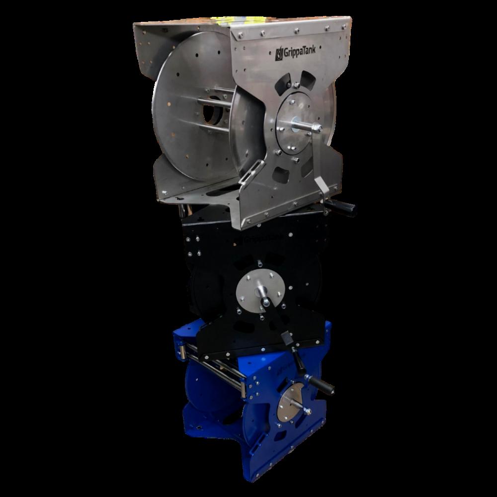 GrippaReel V1 Professional Steel Water Reel - Manual & Electric