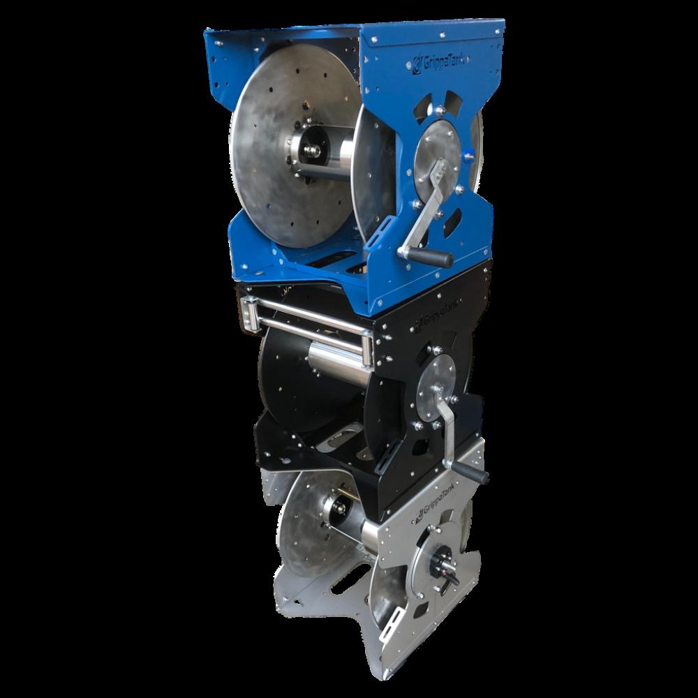 GrippaReel V1 - SS Electric & Manual WFP Low Pressure Steel Water Reel