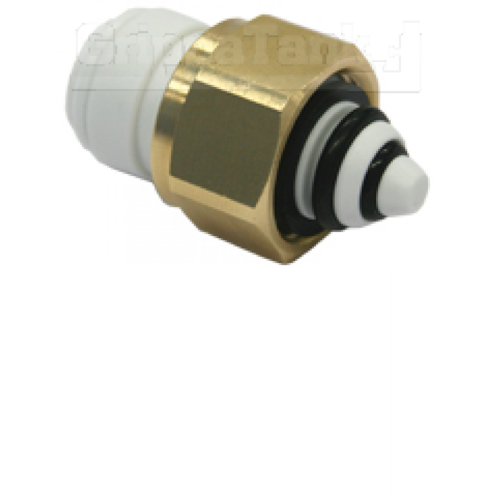 """3/8"""" x 1/2 bspt INLET ADAPTOR WITH NRV"""""""