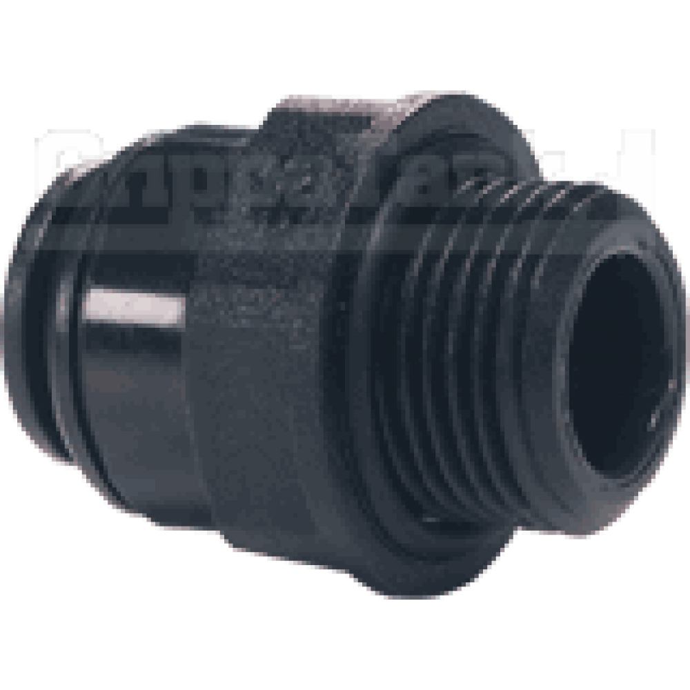 6mm  x 1/4 bsp  STR. ADAPTOR