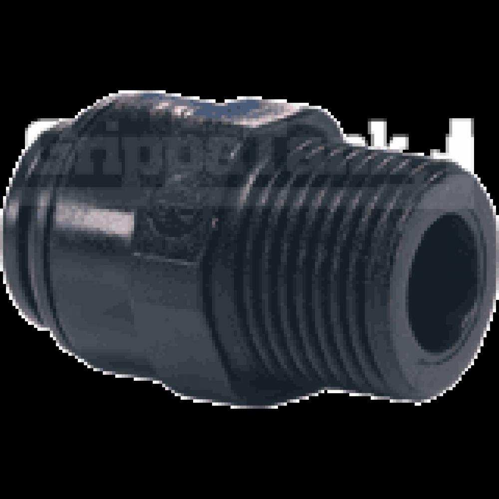 6mm  x 1/4 nptf STR. ADAPTOR