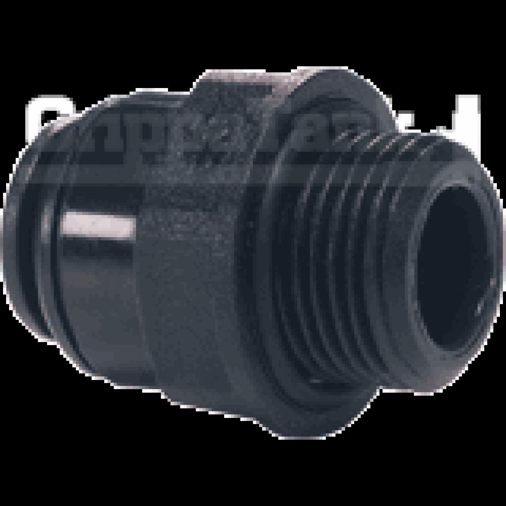 10mm x 1/4 bsp  STR. ADAPTOR