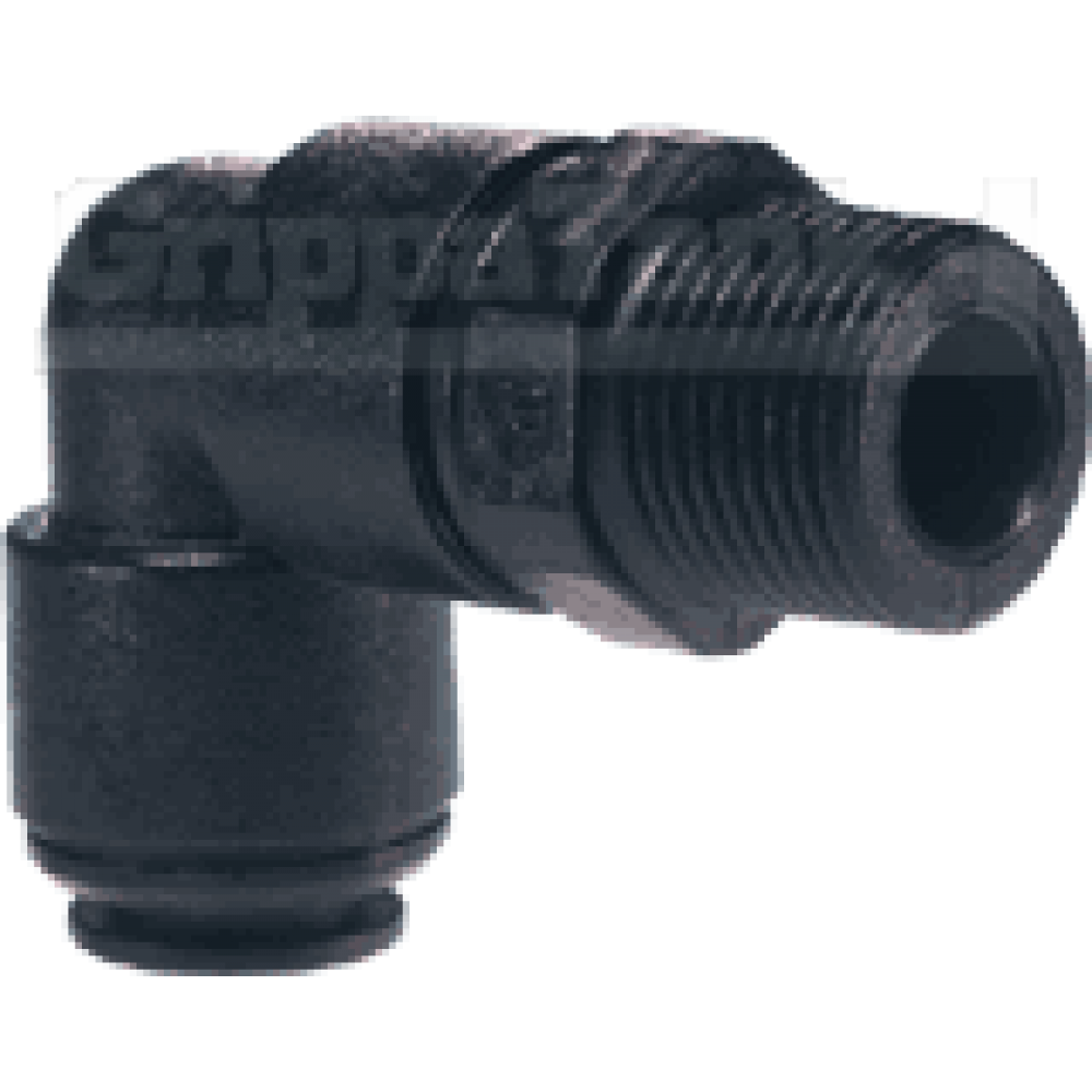8mm  x 1/8 bspt SWIVEL ELBOW