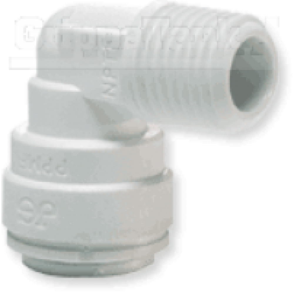 """1/4"""" x 1/8 nptf ELBOW ADAPTOR"""