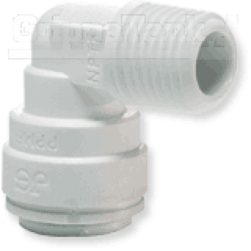 """1/4"""" x 3/8 nptf ELBOW ADAPTOR"""