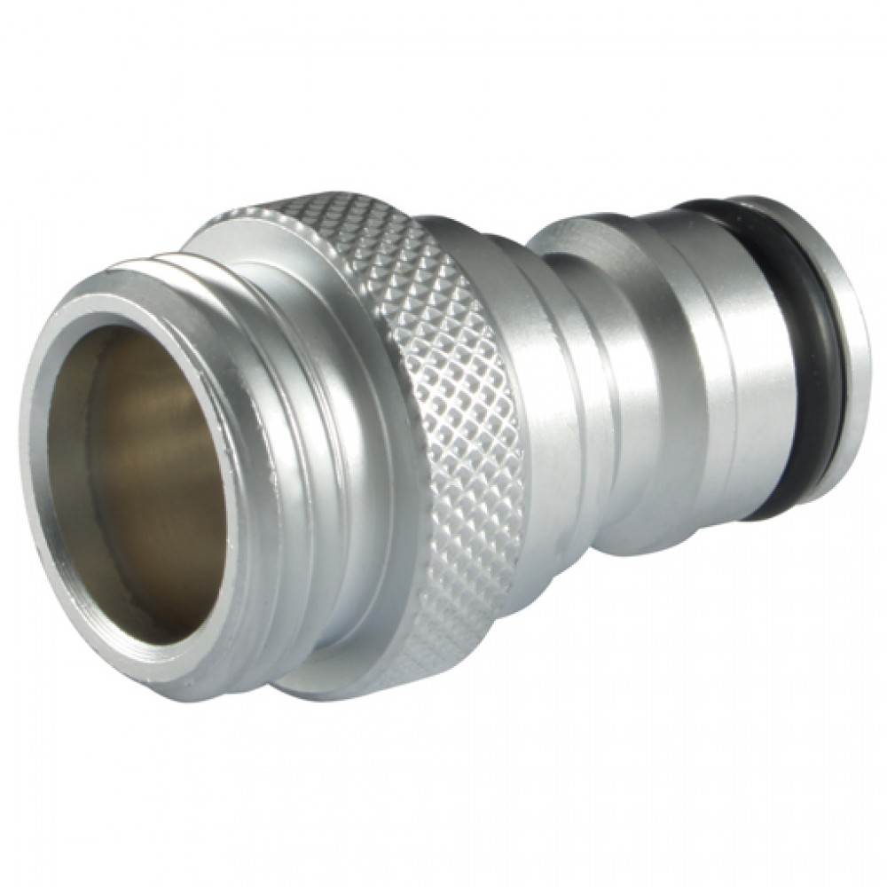 "Quick Release Metal Hose Plug with ½"" Male Thread"