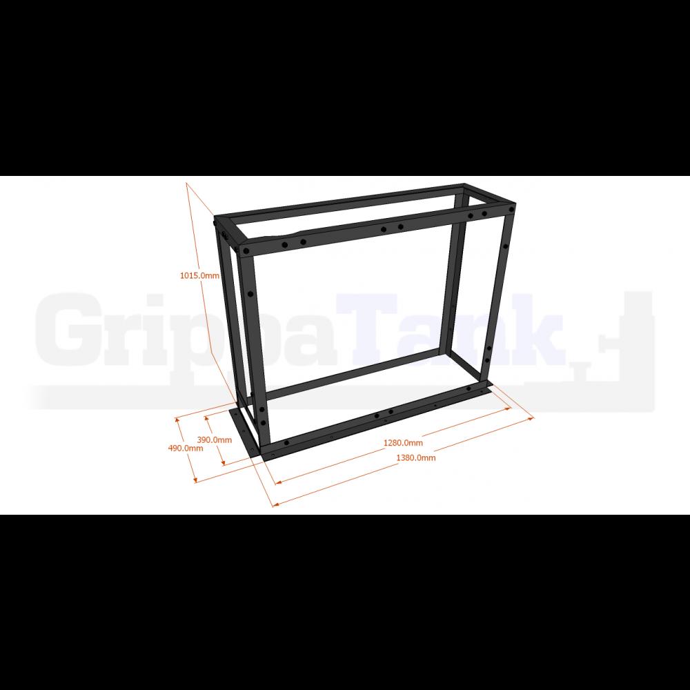 GrippaPRO 400 Upright Tank Frame