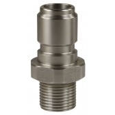 "ST3100 QUICK COUPLING PLUG 3/8""M WITH 60° CONE"
