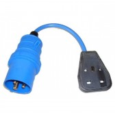 GrippaVAC 13amp Socket & 16v Fly Lead