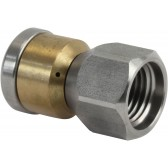"ST49.1 ROTATING SEWER NOZZLE 1/4""F 09 2X0.80 3X"
