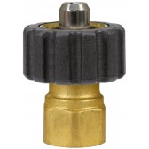 "FEMALE TO FEMALE QUICK SCREW COUPLING ADAPTOR ST241-1/2""F to 3/8""F"
