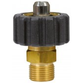 """FEMALE TO MALE QUICK SCREW COUPLING ADAPTOR ST241-1/2""""F to 1/4""""M"""