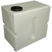 "500 Litre Upright Tank with 8"" Lid"
