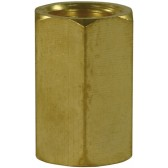 "FEMALE TO FEMALE BRASS SOCKET ADAPTOR-1/4""F to 1/4""F"