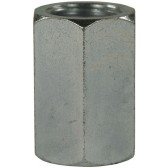 """FEMALE TO FEMALE STAINLESS STEEL SOCKET ADAPTOR-1/4""""F to 1/4""""F"""