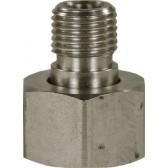 """Tip Nozzle Adaptor M18F X 1/4""""M (2 pieces)"""