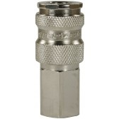 "25KB QUICK COUPLING 1/4"" F WITH VALVE"