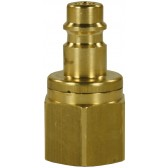 "25KB QUICK COUPLING PLUG 3/8"" F WITH VALVE"