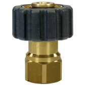 """FEMALE TO FEMALE QUICK SCREW COUPLING ADAPTOR ST40-M22 F to 3/8""""F"""