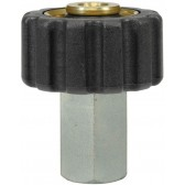 """FEMALE TO FEMALE QUICK SCREW COUPLING ADAPTOR ST40-M22 F to 1/4""""F"""