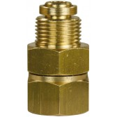 "SWIVEL BRASS 1/4""F X 3/8""M"