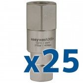"EASYWASH365+ SWIVEL 1/4""F x 1/4""F, BOX OF 25"