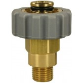 """FEMALE TO MALE QUICK SCREW COUPLING ADAPTOR ST40-M21 F to 1/4"""" M"""