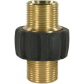 Hose Connector M22 M X M22 M with rubber cover