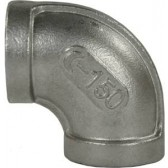 """ELBOW STAINLESS STEEL 1/4""""F x 1/4""""F"""