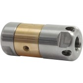 "ST49.2 ROTATING SEWER NOZZLE 1/4"" F."