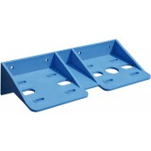 MOUNTING BRACKET DOUBLE PLASTIC