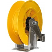 INOX A.B.S PLASTIC AUTOMATIC HOSE REEL UP TO 21M. YELLOW