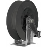 INOX A.B.S PLASTIC AUTOMATIC HOSE REEL UP TO 21M. BLACK