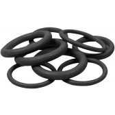 BLACK EDPM SMALL O-RING, PACK of 100