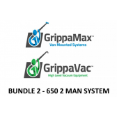 2 Man RO System & Gutter Vacuum Package