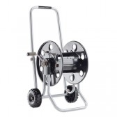 Lightweight Metal Microbore Hose Reel with Wheels