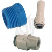 """1/2"""" John Guest Plumbing Adaptor Kit for DI Bottles"""