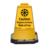 Heavy Duty Hazard Safety Mini Cone Sign