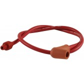 IGNITION CABLE RED WITH 4mm PUSH CONNECTOR