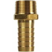 "HOSE TAIL BRASS 1/8"" TAPERED MALE-4mm"