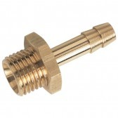 "1/8"" BSPP Male X 1/4"" 6mm ID Hose Brass Tail for Removeable BK120 Swan Neck"