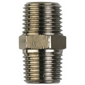 Nickel Plated Brass Male Thread BSPT Nipple